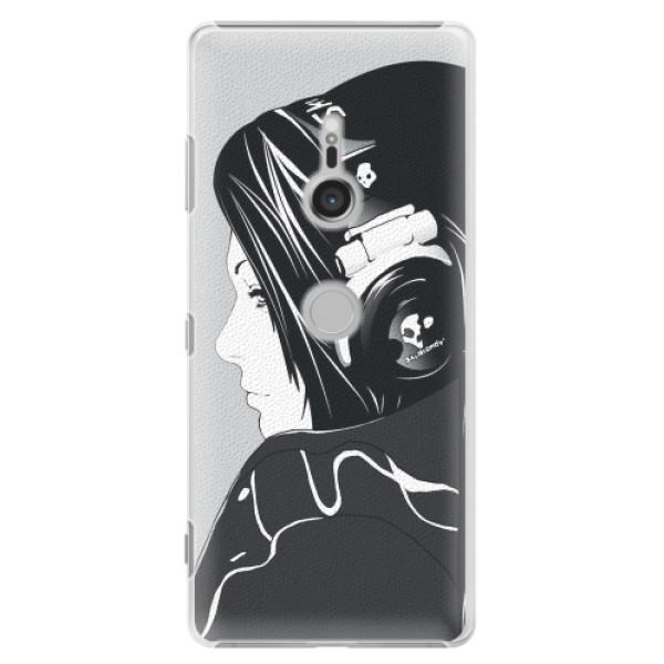 Plastové pouzdro iSaprio - Headphones - Sony Xperia XZ3