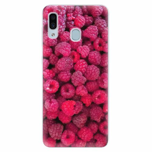 Silikonové pouzdro iSaprio - Raspberry - Samsung Galaxy A30
