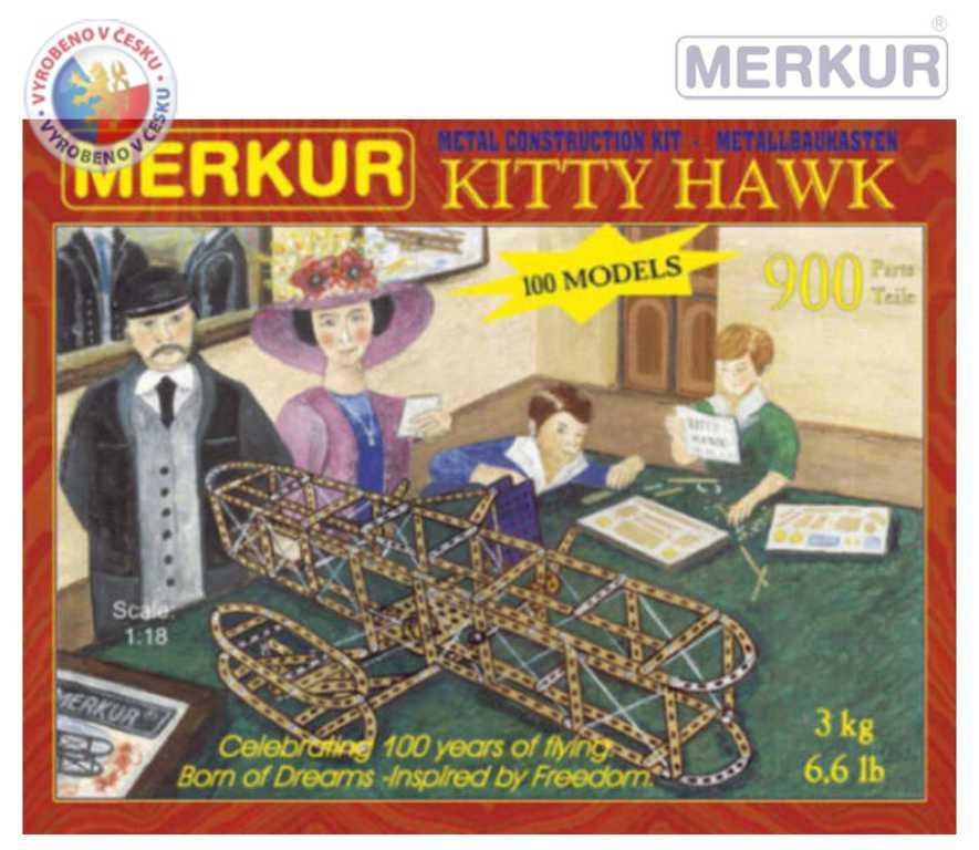MERKUR 124 KITTY HAWK * KOVOVÁ STAVEBNICE *