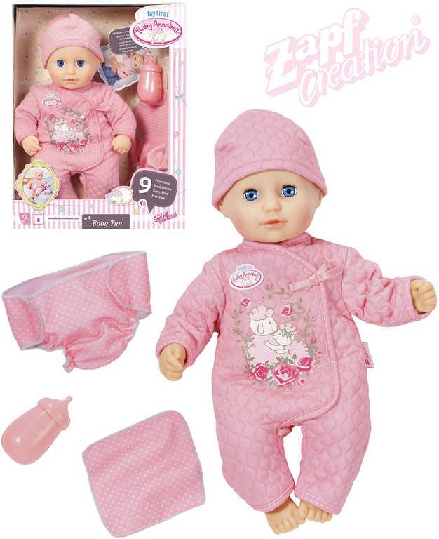 ZAPF BABY ANNABELL My first Baby Fun set panenka miminko s doplňky
