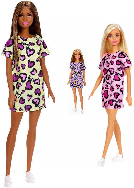 MATTEL BRB Barbie panenka v šatech