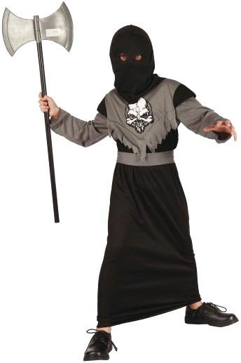 KARNEVAL Šaty Temný pán 1 vel. M (120-130cm) 5-9 let KOSTÝM