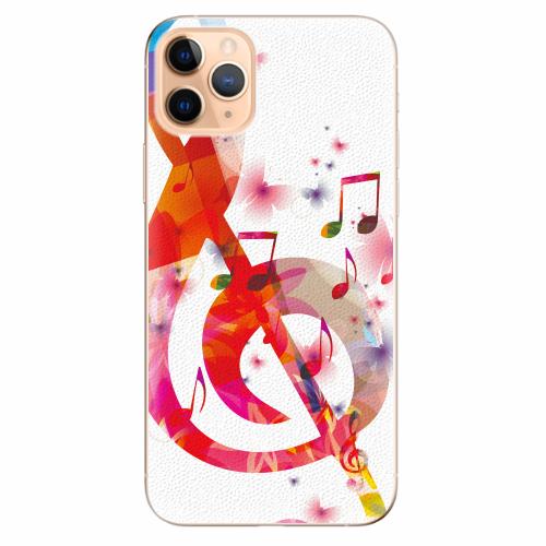 Silikonové pouzdro iSaprio - Love Music - iPhone 11 Pro Max
