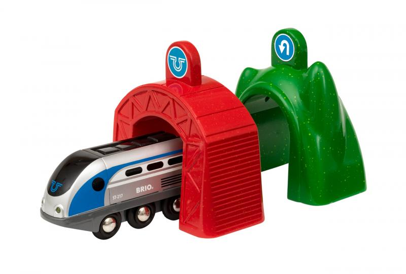 Lokomotiva s aktivními tunely SMART TECH