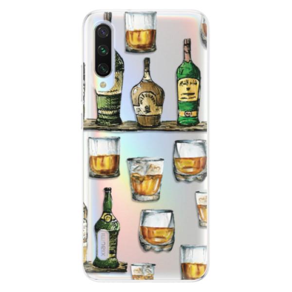 Odolné silikonové pouzdro iSaprio - Whisky pattern - Xiaomi Mi A3