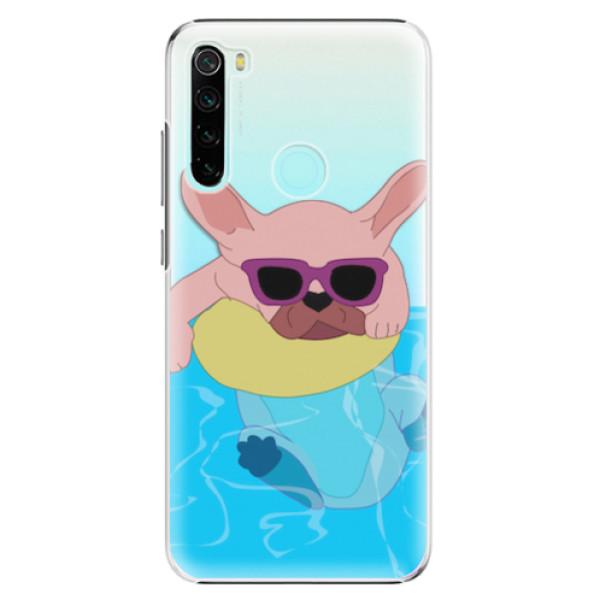 Plastové pouzdro iSaprio - Swimming Dog - Xiaomi Redmi Note 8