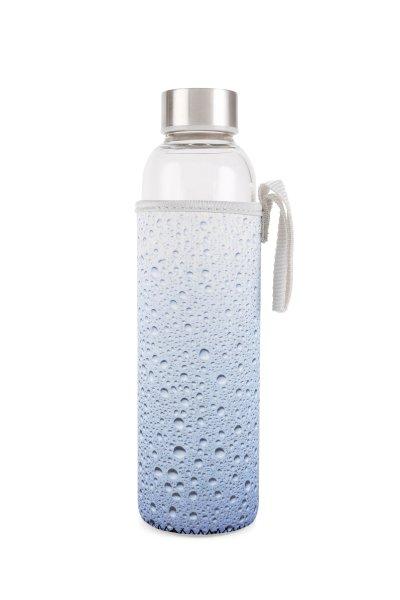 Skleněná láhev s vodním obalem