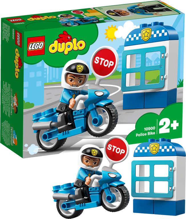 LEGO DUPLO Motorka policejní 10900