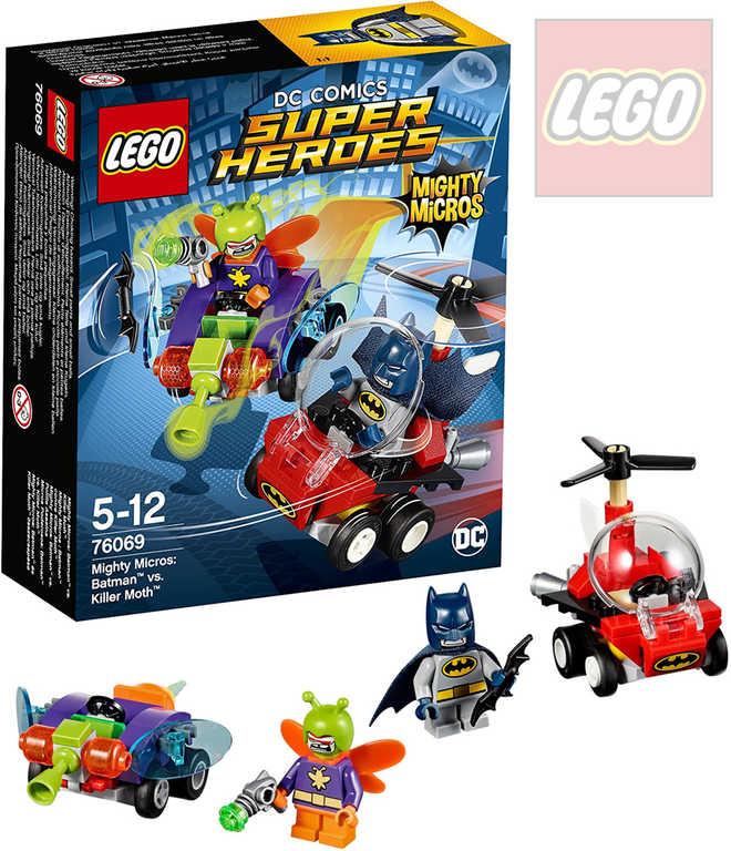 LEGO SUPER HEROES Batman vs. Killer Moth 76069 STAVEBNICE
