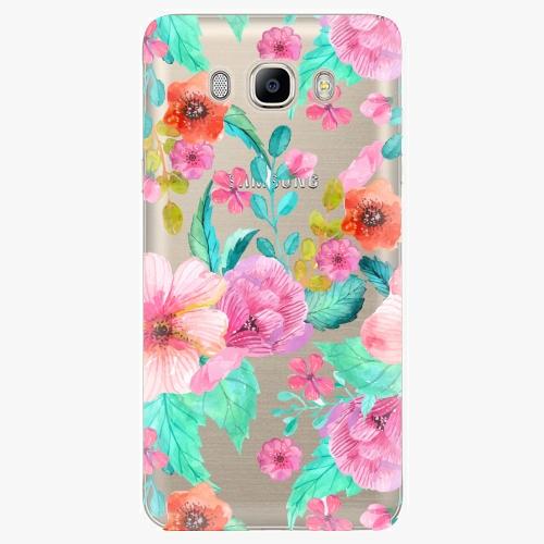 Plastový kryt iSaprio - Flower Pattern 01 - Samsung Galaxy J7 2016
