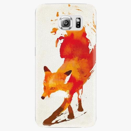 Plastový kryt iSaprio - Fast Fox - Samsung Galaxy S6 Edge Plus