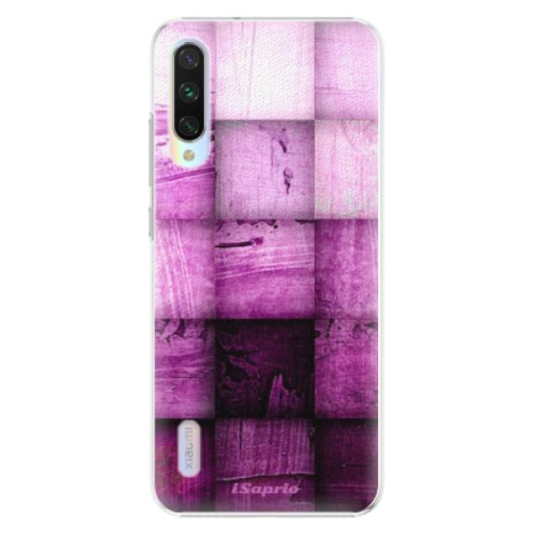 Plastové pouzdro iSaprio - Purple Squares - Xiaomi Mi A3