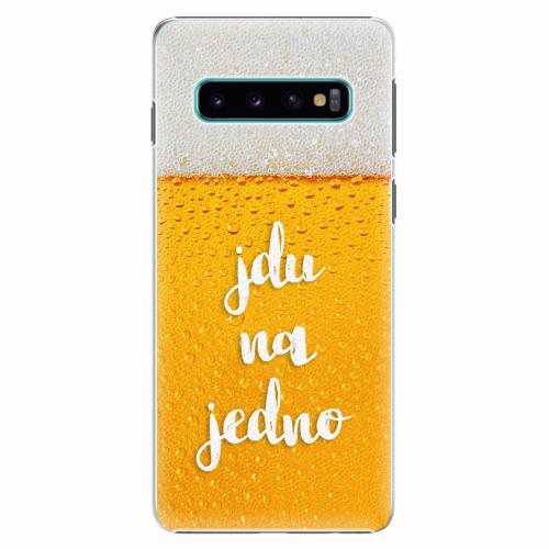 Plastový kryt iSaprio - Jdu na jedno - Samsung Galaxy S10