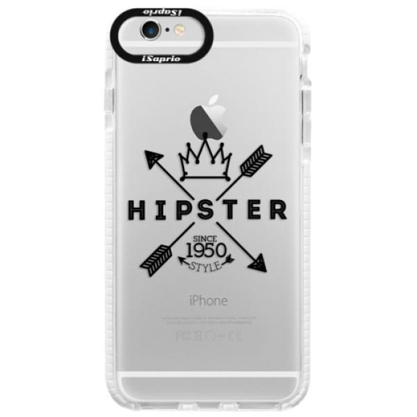 Silikonové pouzdro Bumper iSaprio - Hipster Style 02 - iPhone 6/6S