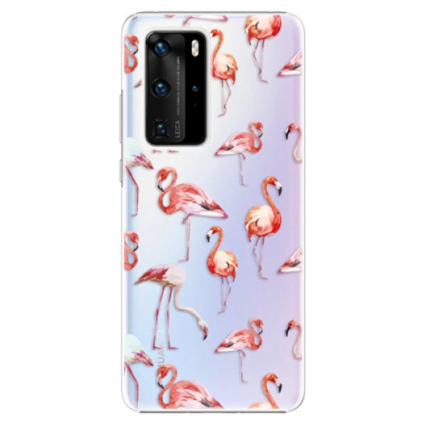 Plastové pouzdro iSaprio - Flami Pattern 01 - Huawei P40 Pro