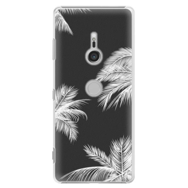 Plastové pouzdro iSaprio - White Palm - Sony Xperia XZ3