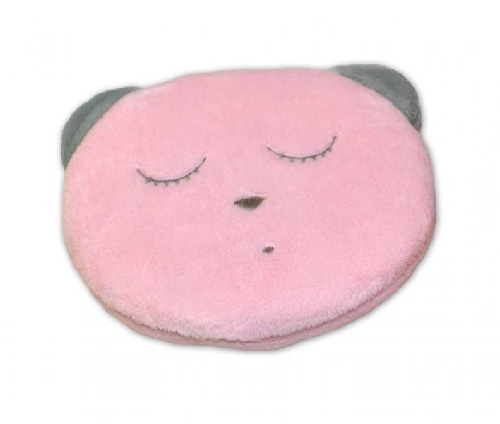 Šumící mazlíček Medvídek Sleep - růžový