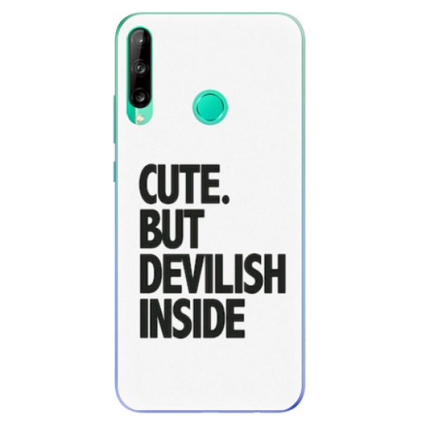 Odolné silikonové pouzdro iSaprio - Devilish inside - Huawei P40 Lite E