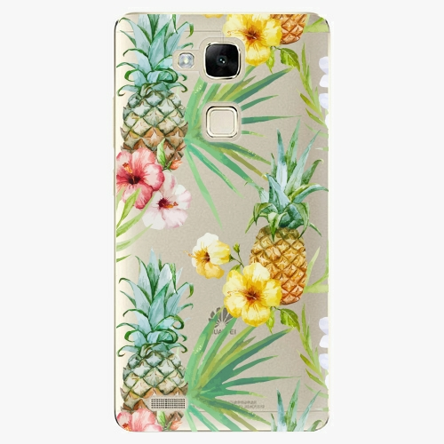 Plastový kryt iSaprio - Pineapple Pattern 02 - Huawei Mate7