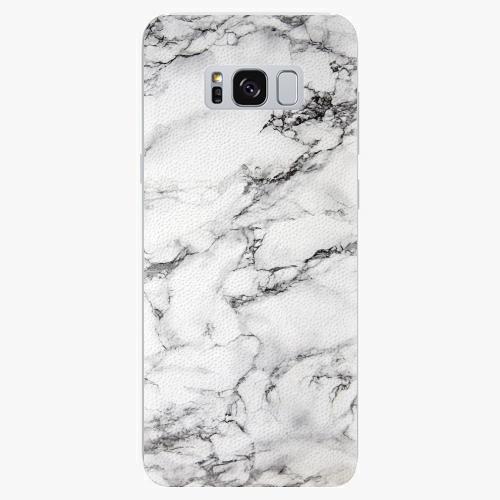 Plastový kryt iSaprio - White Marble 01 - Samsung Galaxy S8 Plus