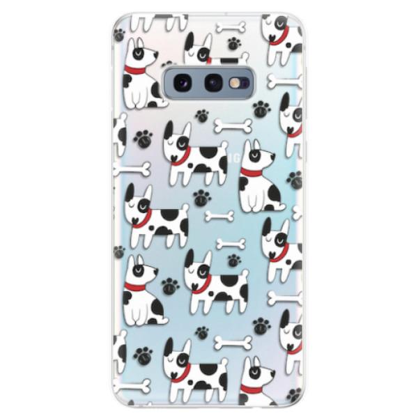 Odolné silikonové pouzdro iSaprio - Dog 02 - Samsung Galaxy S10e