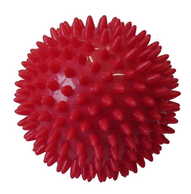 Míček masírovací průměr 7,5 cm červený