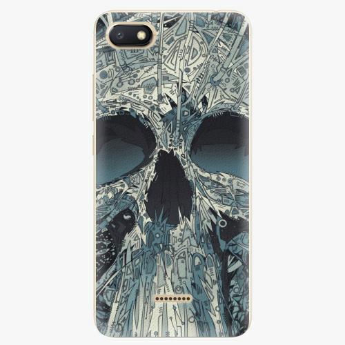 Plastový kryt iSaprio - Abstract Skull - Xiaomi Redmi 6A