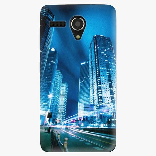 Plastový kryt iSaprio - Night City Blue - Lenovo A606