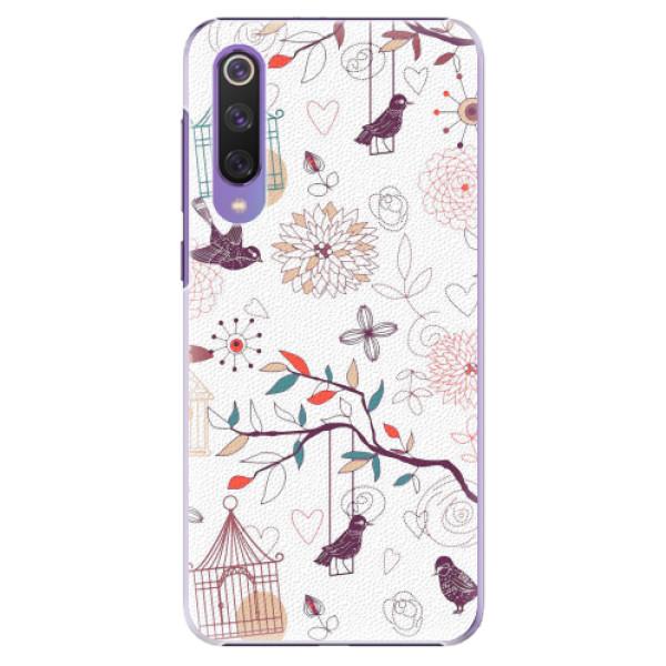 Plastové pouzdro iSaprio - Birds - Xiaomi Mi 9 SE