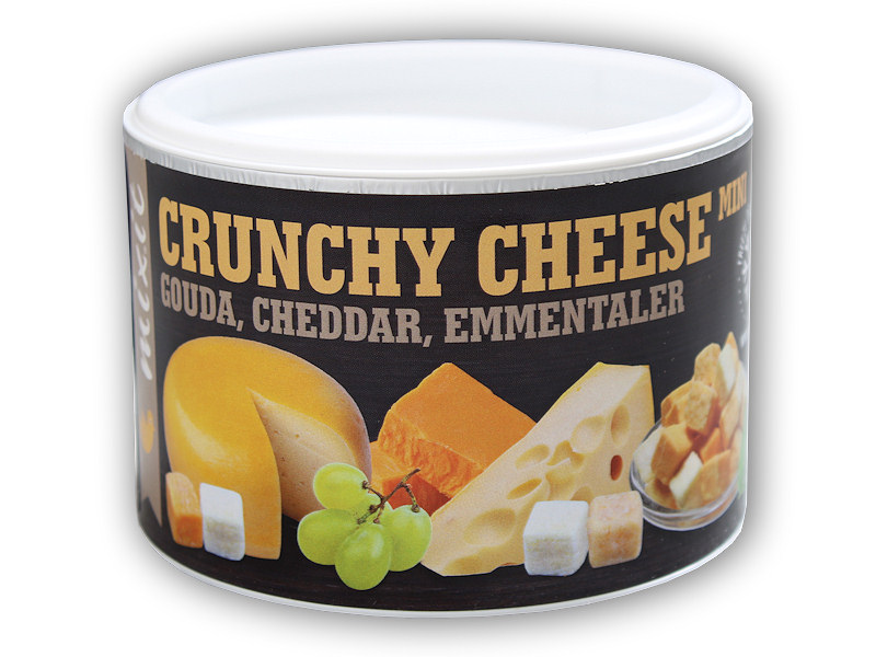 Mix křupavých sýrů Gouda,Čedar,Ementál 135g