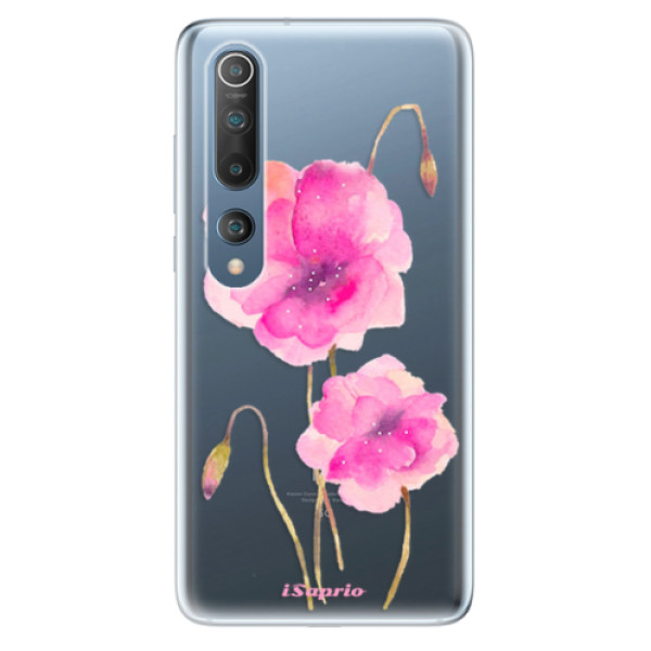 Odolné silikonové pouzdro iSaprio - Poppies 02 - Xiaomi Mi 10 / Mi 10 Pro