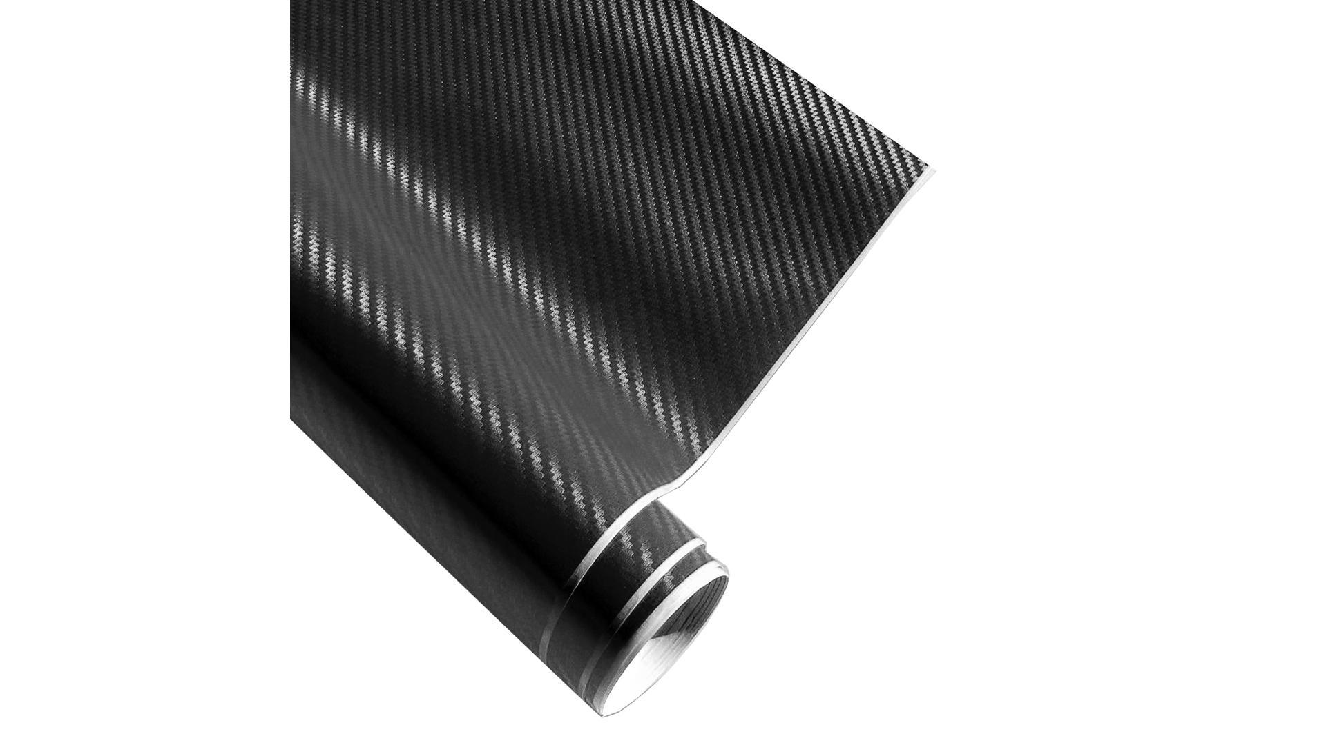 4CARS Fólie 3D CARBON Černá 1.52x1m