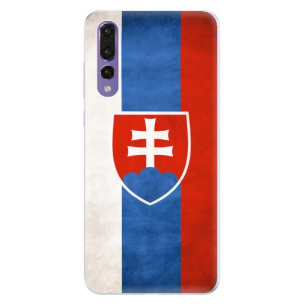 Silikonové pouzdro iSaprio - Slovakia Flag - Huawei P20 Pro