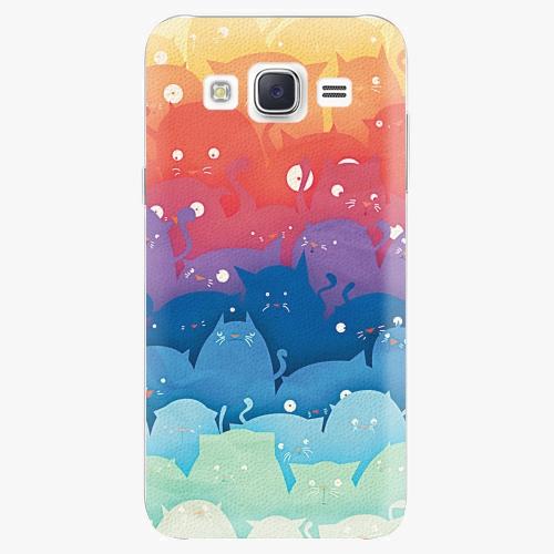 Plastový kryt iSaprio - Cats World - Samsung Galaxy J5