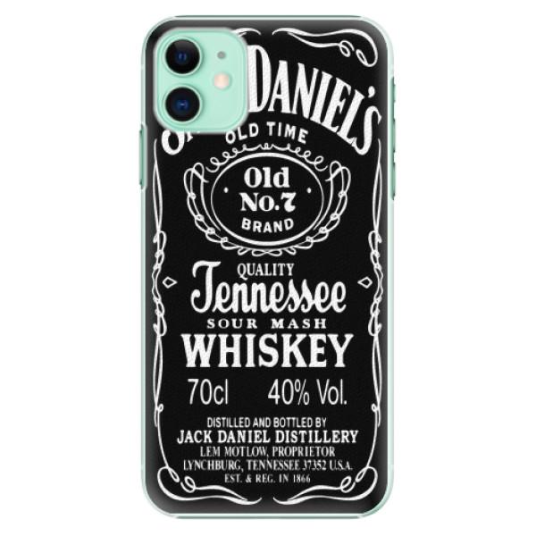 Plastové pouzdro iSaprio - Jack Daniels - iPhone 11