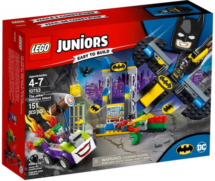 LEGO JUNIORS Batman - Joker útočí na Batcave 10753 STAVEBNICE