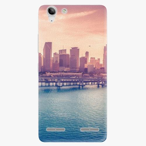 Plastový kryt iSaprio - Morning in a City - Lenovo Vibe K5