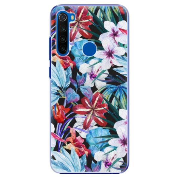 Plastové pouzdro iSaprio - Tropical Flowers 05 - Xiaomi Redmi Note 8T