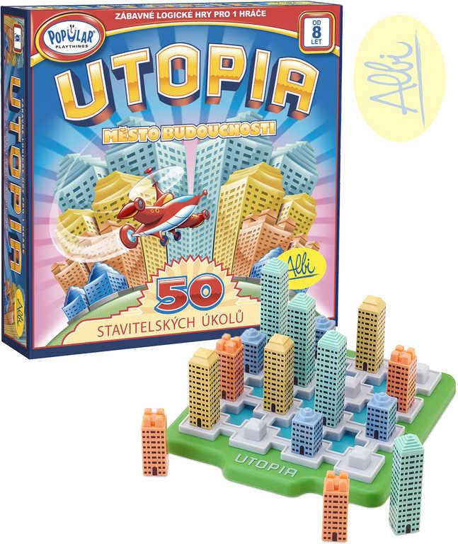 ALBI HRA Popular Utopia Město budoucnosti 50 stavitelských úkolů
