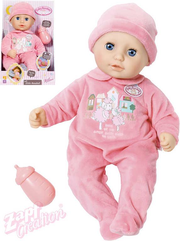 ZAPF My Little Baby Annabell 36cm set panenka miminko s lahvičkou