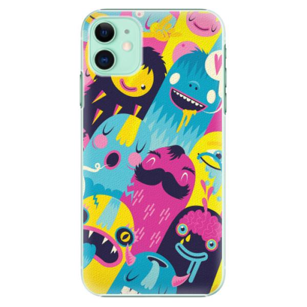 Plastové pouzdro iSaprio - Monsters - iPhone 11