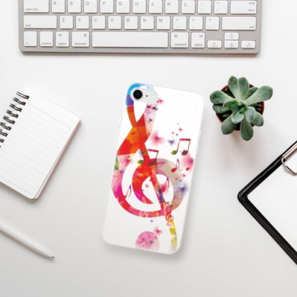 Odolné silikonové pouzdro iSaprio - Love Music - iPhone SE 2020