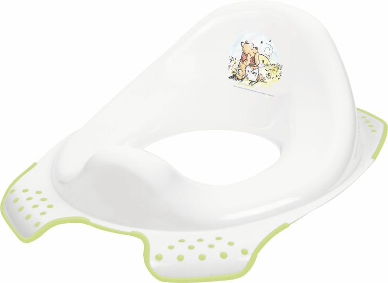 Keeper Adaptér - treningové sedátko na WC - Medvídek Pú a přátelé - bílé