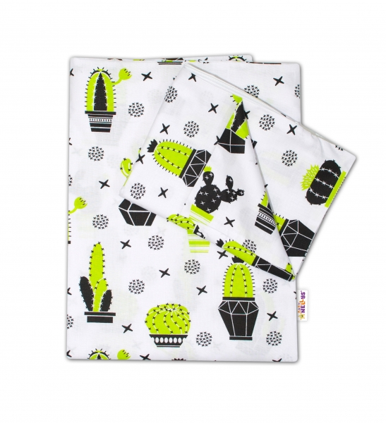baby-nellys-2-dilne-bavlnene-povleceni-kaktus-135x100-cm-135x100
