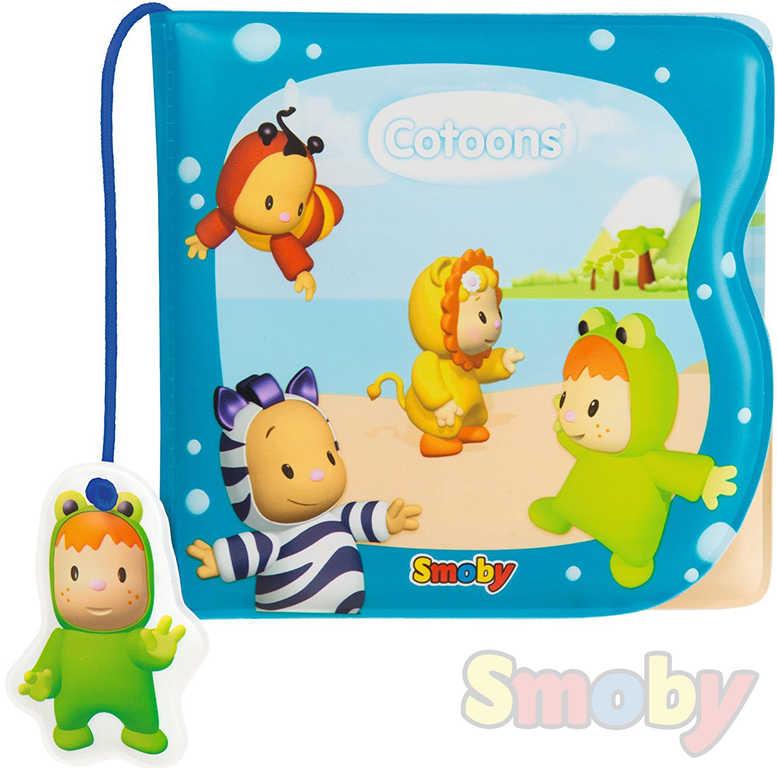 SMOBY Cotoons Baby knížečka do vody měnící se obrázky kouzelná