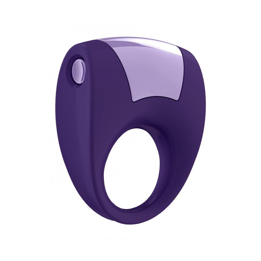 Vibrační kroužek Ovo B8 Vibrating Ring Purple