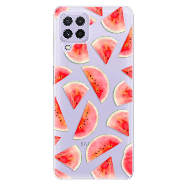 Odolné silikonové pouzdro iSaprio - Melon Pattern 02 - Samsung Galaxy A22