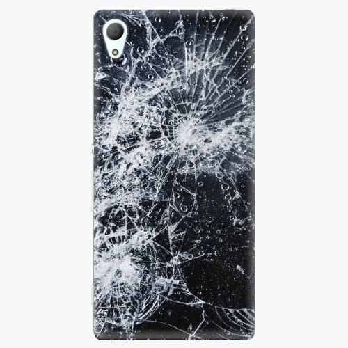 Plastový kryt iSaprio - Cracked - Sony Xperia Z3+ / Z4