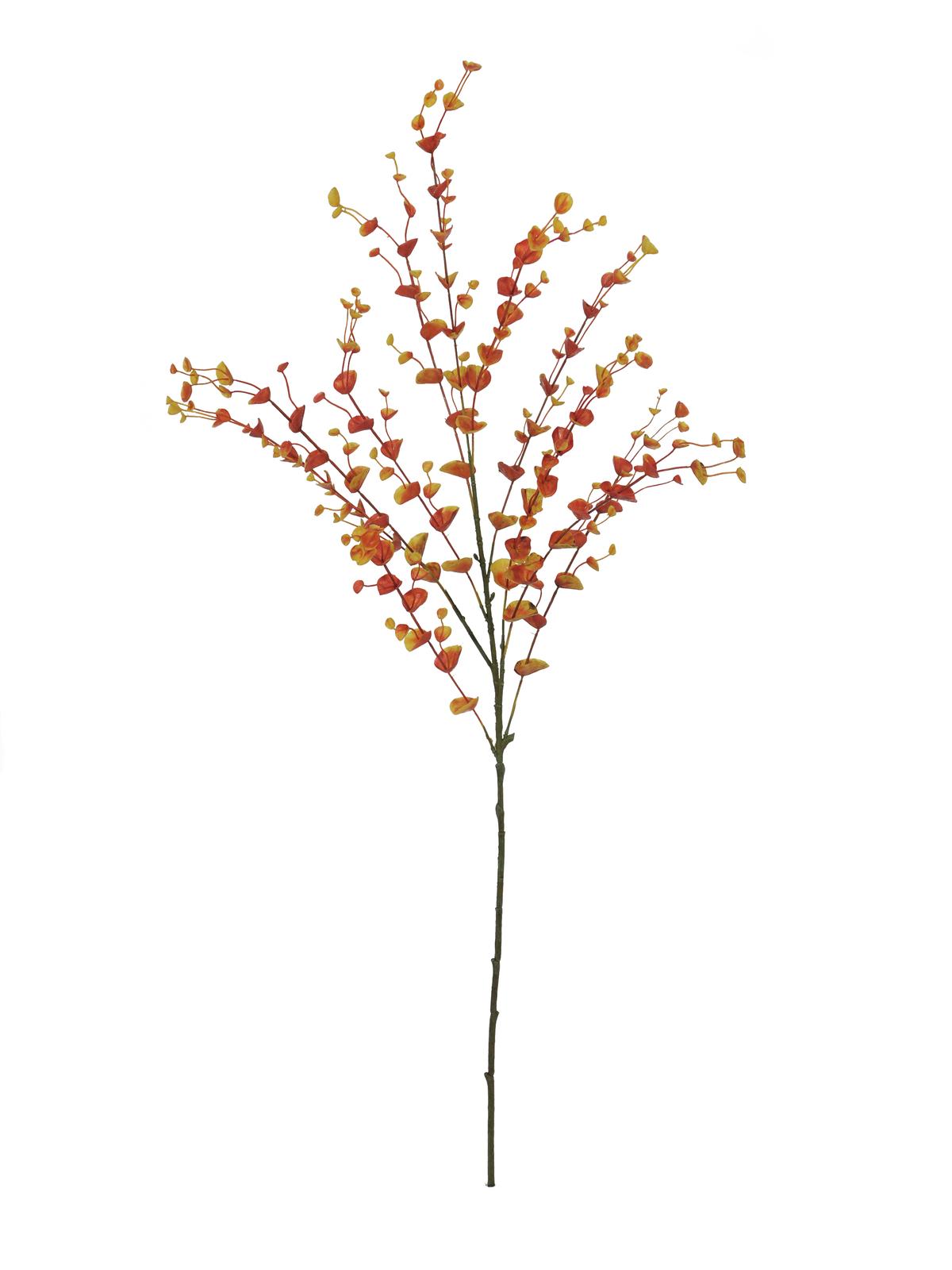Eukalypt větvička, oranžová, 110 cm