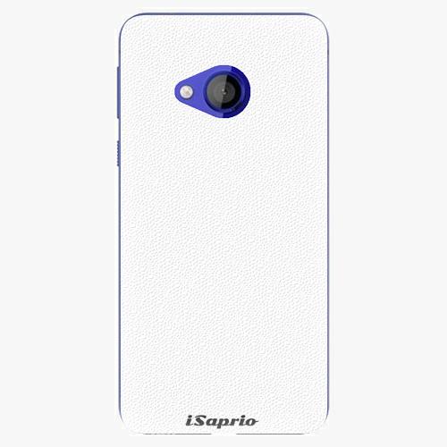 Plastový kryt iSaprio - 4Pure - bílý - HTC U Play